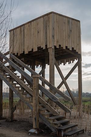 Uitkijktoren Tommelen trap