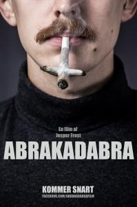 Filmplakat for Abrakadabra, der udkommer i 2014.