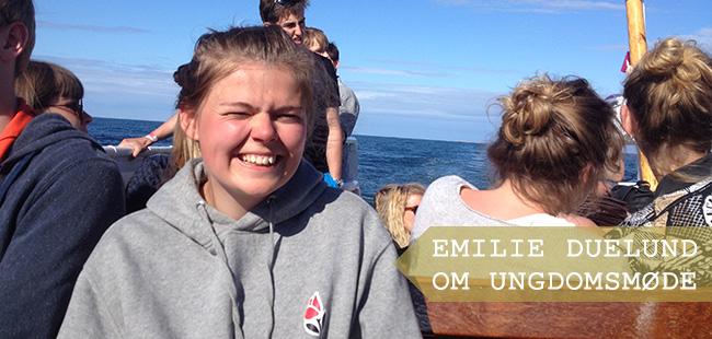 For Emilie Sindbjerg Duelund fra Haderslev Ungdomsråd var Ungdomsmødet på Christiansø i forbindelse med Folkemødet en stor succes.