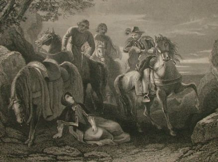 Flight Of The Earls engraving