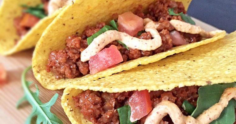 Banana Ketchup Meat(less) Tacos