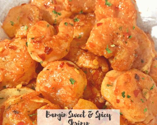 Bangin Sweet & Spicy Shrimps