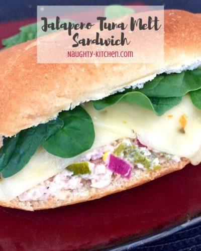 Jalapeno Tuna Melt Sandwich