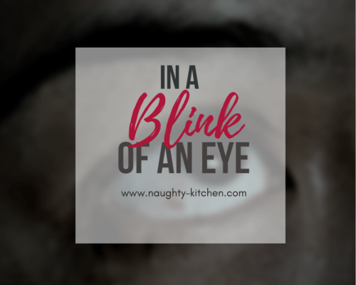 In a Blink of an Eye: Living with an Eye Disease