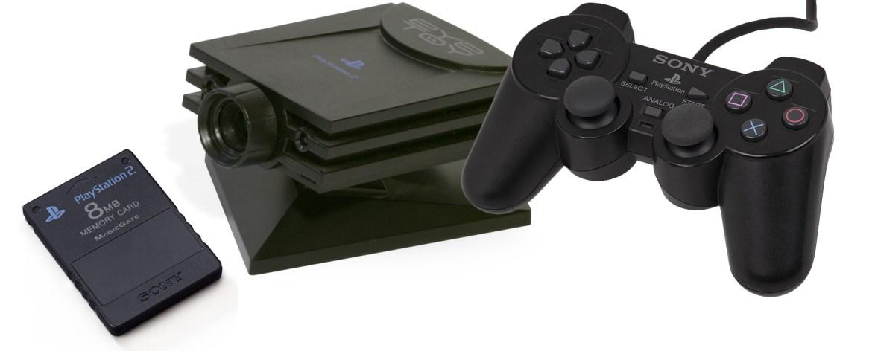 Memory Card PS2, EyeToy, DualShock 2