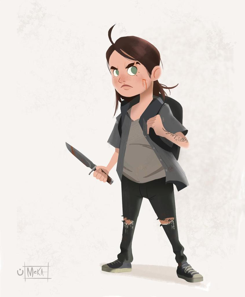 FanArtFriday Ellie