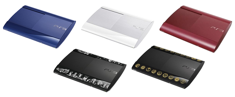 Editions Spéciales PS3 Ultra Slim