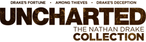 Logo Uncharted The Nathan Drake Collection (dark)
