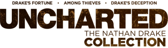 Logo Uncharted The Nathan Drake Collection (dark)