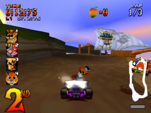 Screenshot CTR Crash Team Racing