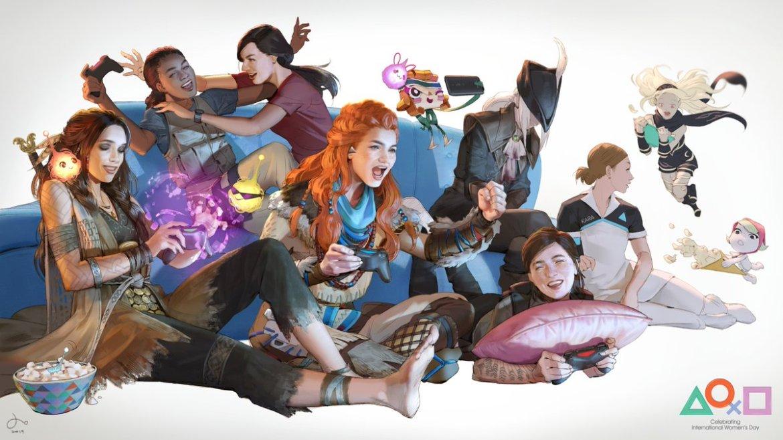 Theme PS4 Journée de la Femme PlayStation