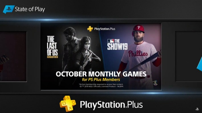 The Last of Us Remastered jeux PlayStation Plus octobre 2019