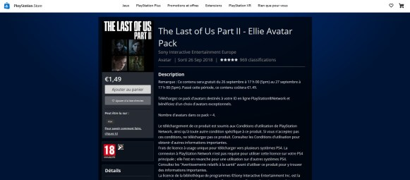 The Last of Us - Avatars