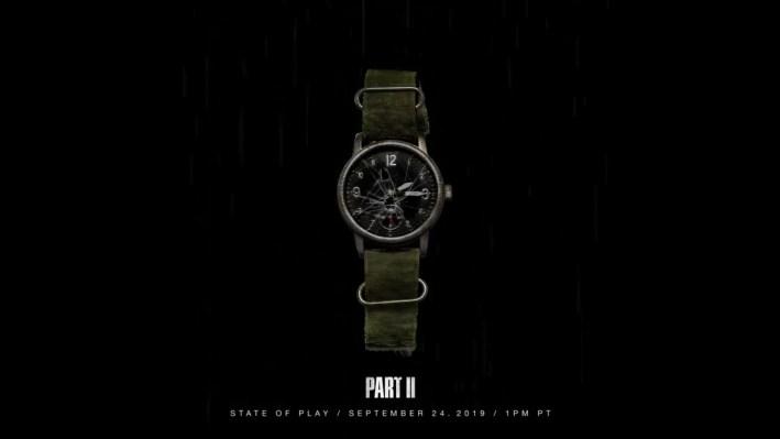 The Last of Us Part II teasing montre Joel