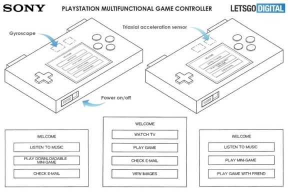 Brevet fonctionnalité DualShock 5 manette Sony
