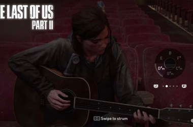 Leak The Last Of Us Part II Gameplay Ellie Guitare