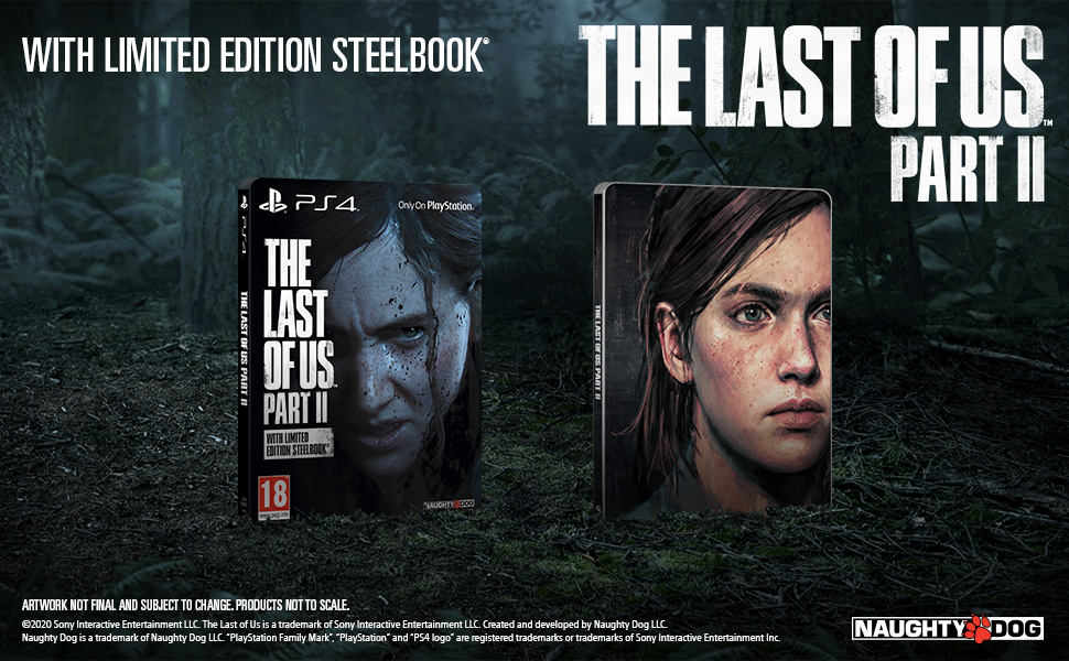 Steelbook The Last of Us Part II