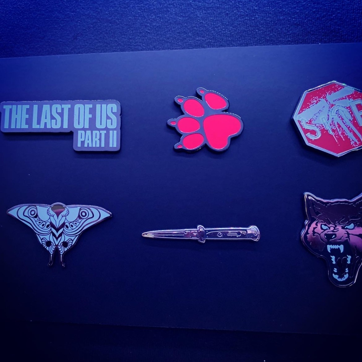 Pins Unboxing Collector The Last Of Us Part II