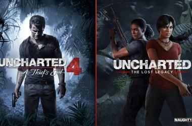 Uncharted 4 et Lost Legacy - Offre de promotion juin 2021