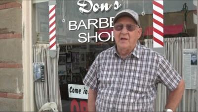 Le Barber Shop prêt pour le tournage