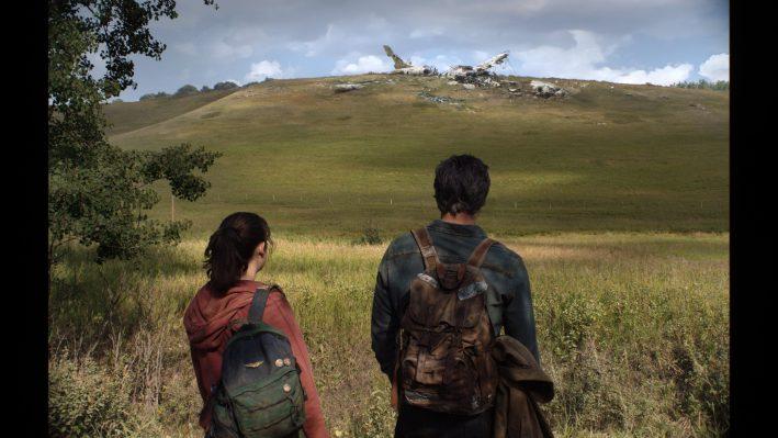Ellie et Joel dans la série The Last of Us