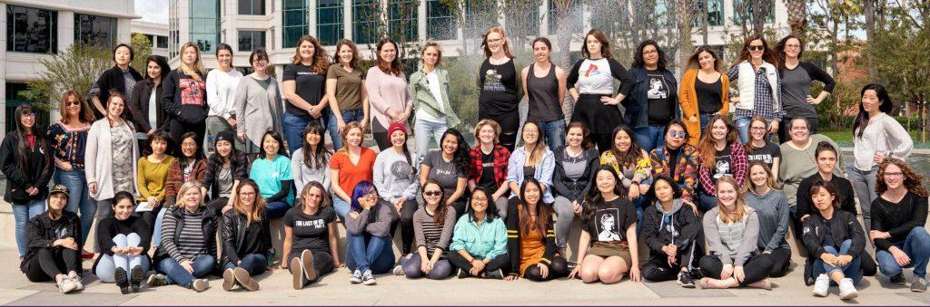 Les femmes de Naughty Dog à l'occasion de la journée internationale des droits des femmes en 2019