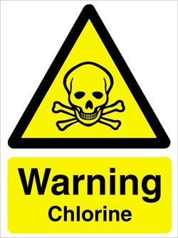 woda chlorowana ostrzeżenie