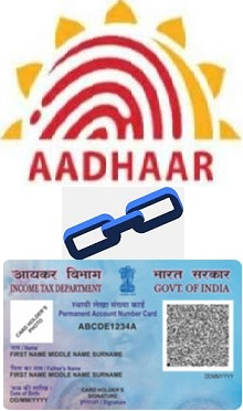Link to Aadhaar card with PAN Card