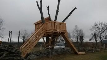 cabane en bois sur mesure mende