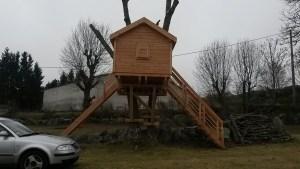 cabane en bois sur mesure le puy en velay