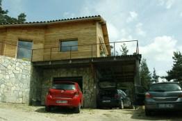maison en bois en haute loire