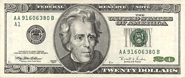 The $20.00 Bill