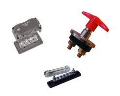 Coupes batteries et borniers