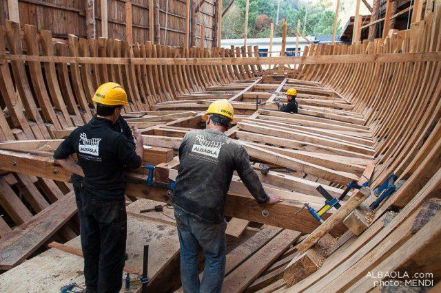 costruzione baleniera san juan