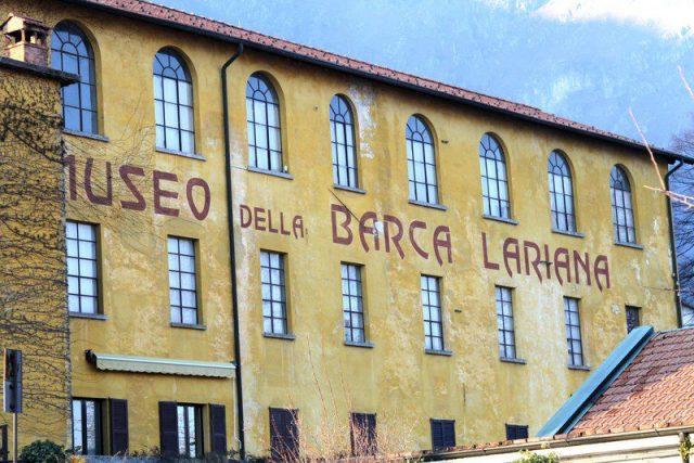 museo barca lariana di pianello del lario foto mbl