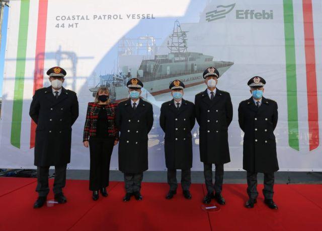 Effebi launches  mt Guardia di Finanza