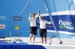 Victoire de Dick et Peyron sur Virbac-Paprec 3 dans la Barcelona World Race 2011