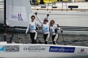 Leroy Mermaids Mondiaux isaf 2011 perth match race bronze