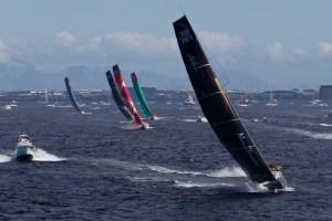 Volvo Ocean Race etape 2 le cap abu dhabi