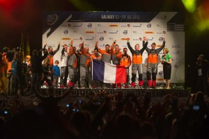 volvo ocean race groupama sailing team vainqueur