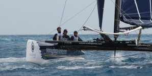 Extreme Sailing Series: Groupe Edmond de Rothschild lead going into the final day as they eye their first podium finish this year