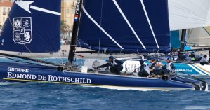 Extreme Sailing Series: Fine French victory on French waters for Groupe Edmond de Rothshchild