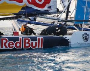 Extreme Sailing Series: Red Bull Sailing Team et Groupe Edmond de Rothschild au coude à coude en tête du classement provisoire
