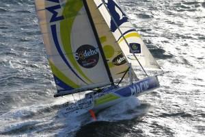 Vendée Globe: Gabart à l'aise, Burton proche de l'abandon