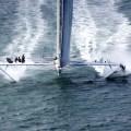 l'Hydroptère à l'assaut du Pacifique
