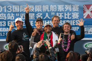 Extreme Sailing Series : Retour au top de Leigh McMillan