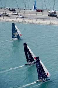 Extreme Sailing Series : Where East meets West in Istanbul