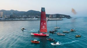Volvo Ocean Race : Dongfeng make race history for China