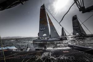 Extreme Sailing Series : The Wave, Muscat victorious on home waters