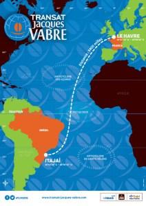 Transat Jacques Vabre : J-4 … la longue route